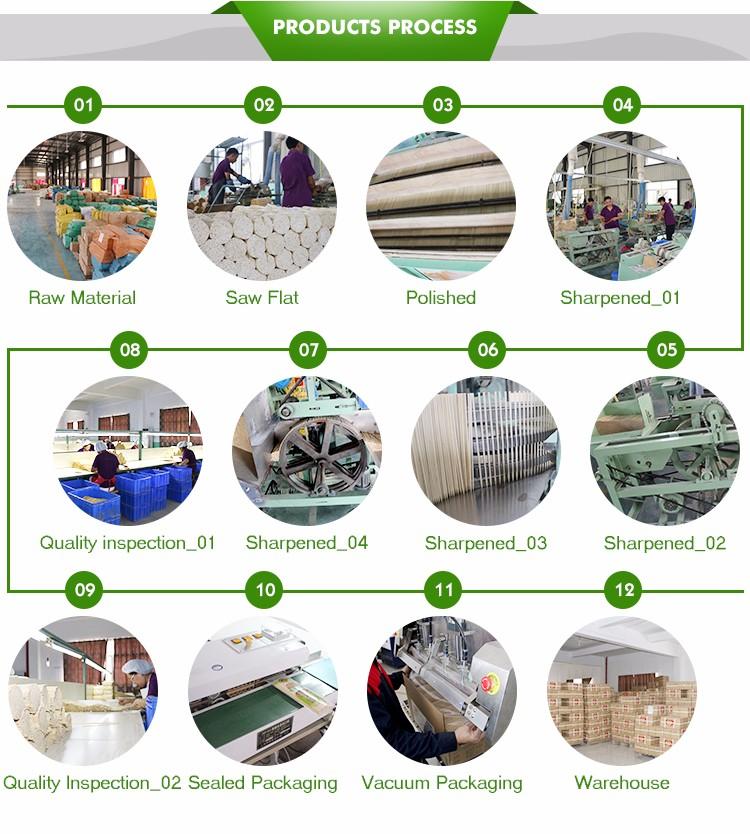 Nhà máy sản xuất đũa tre xuất khẩu
