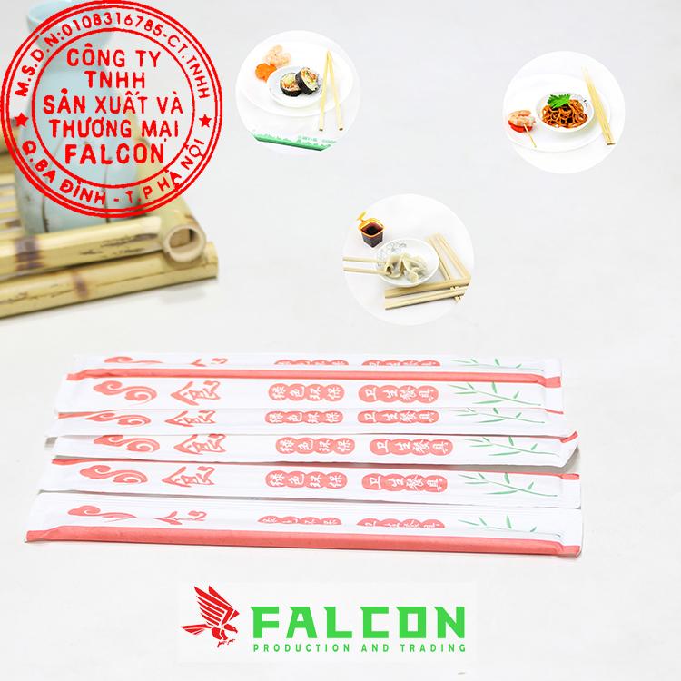 Đũa ăn 1 lần chất lượng đảm bảo công ty Falcon