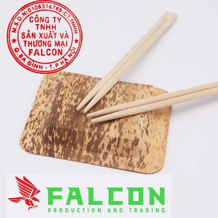 đũa dùng một lần tự tách đầu vuông công ty Falcon
