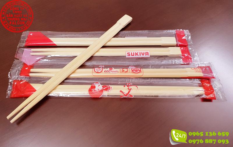 Đũa dùng 1 lần cao cấp cho nhà hàng Nhật Bản hoặc xuất khẩu