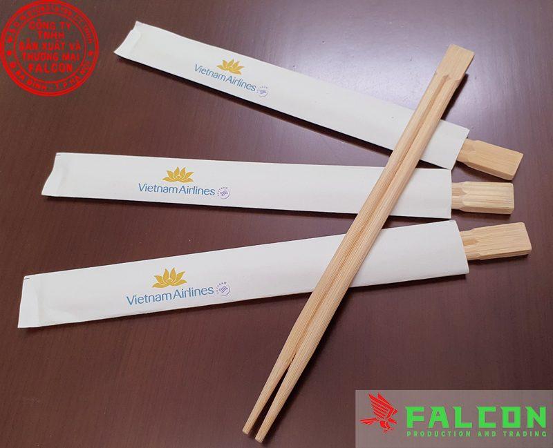 Đũa ăn dùng một lần đóng bao giấy cao cấp