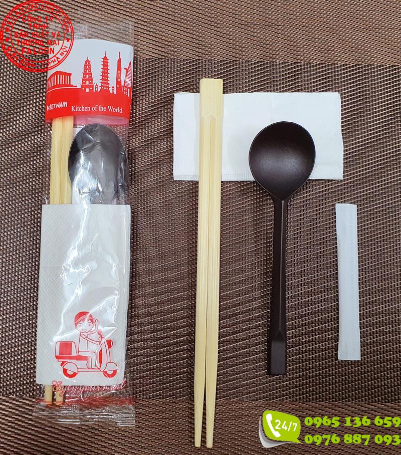 Muỗng đũa ăn dùng 1 lần đảm bảo vệ sinh, cao cấp